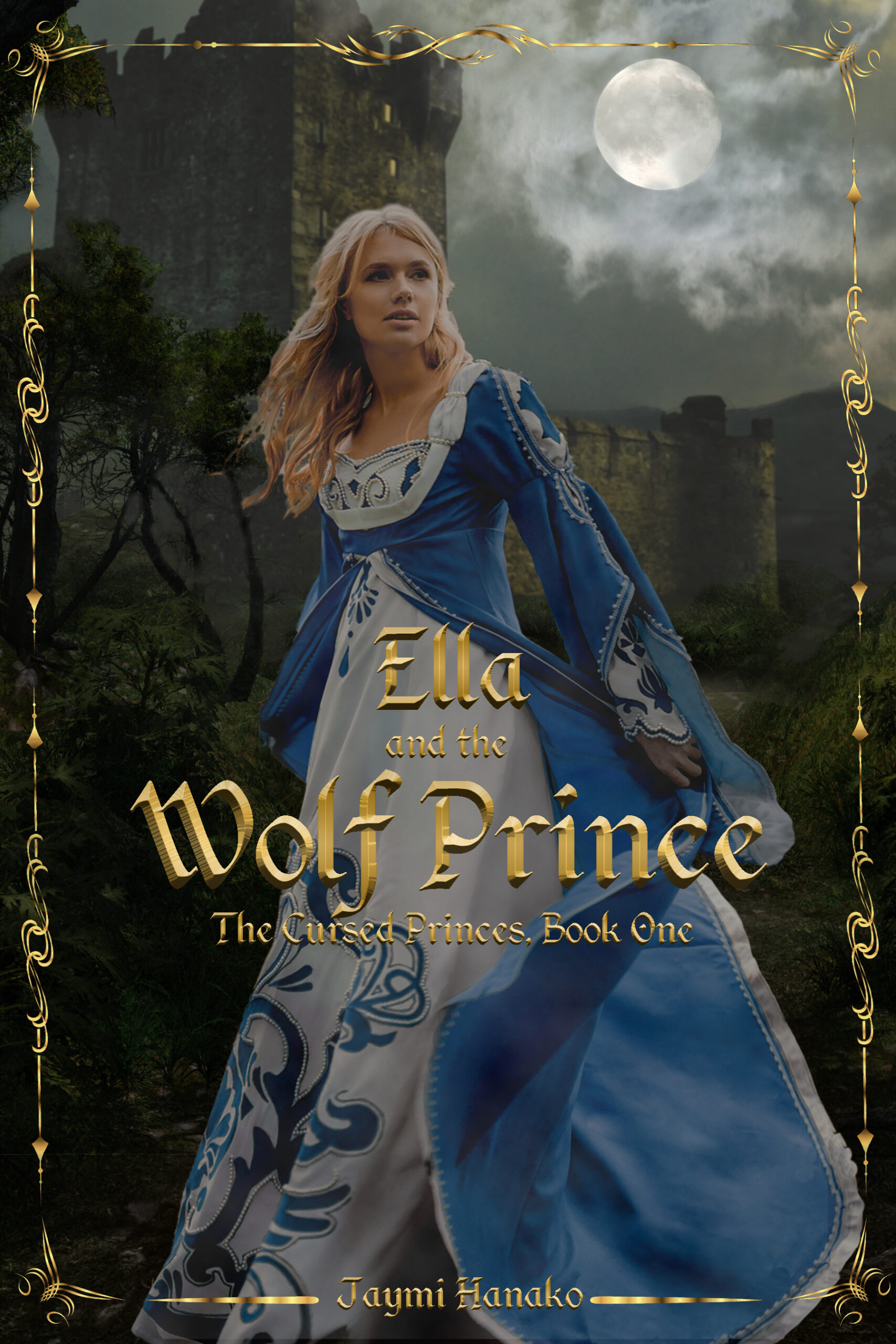 ebook cover for Ella and the Wolf Prince